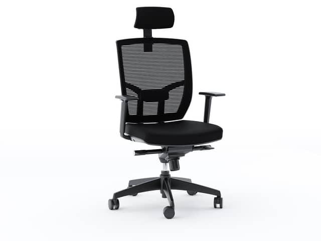 tc-223-office-chair-bdi-223DHF-black-1