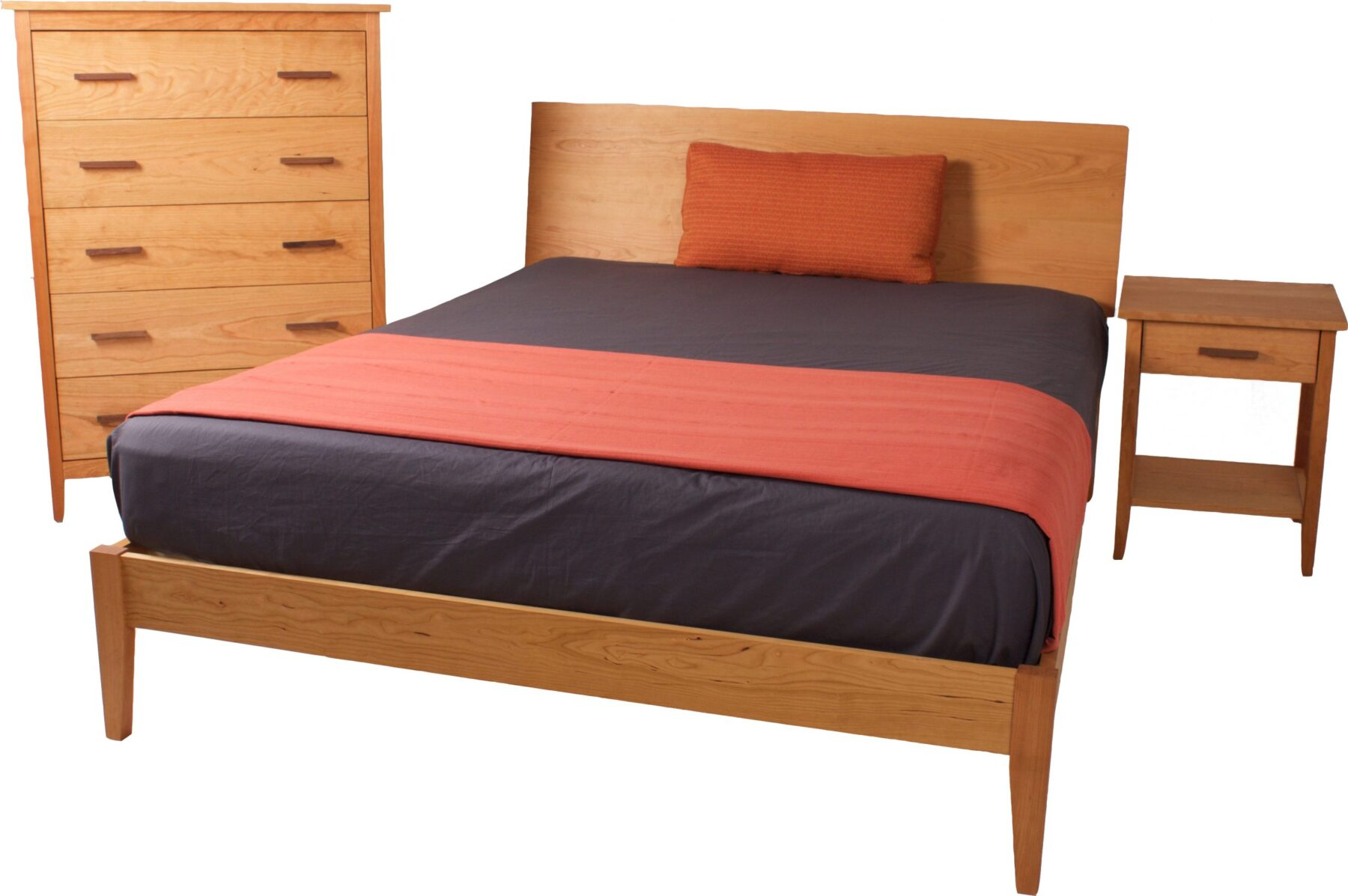 Bed – Night Table – Chest