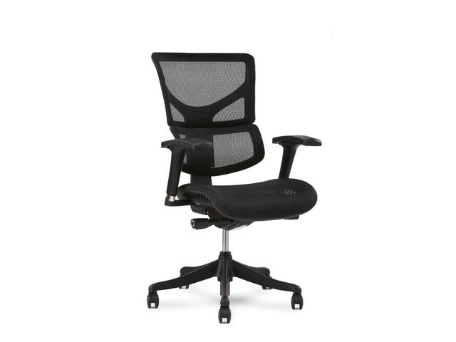 x1 w:o headrest black