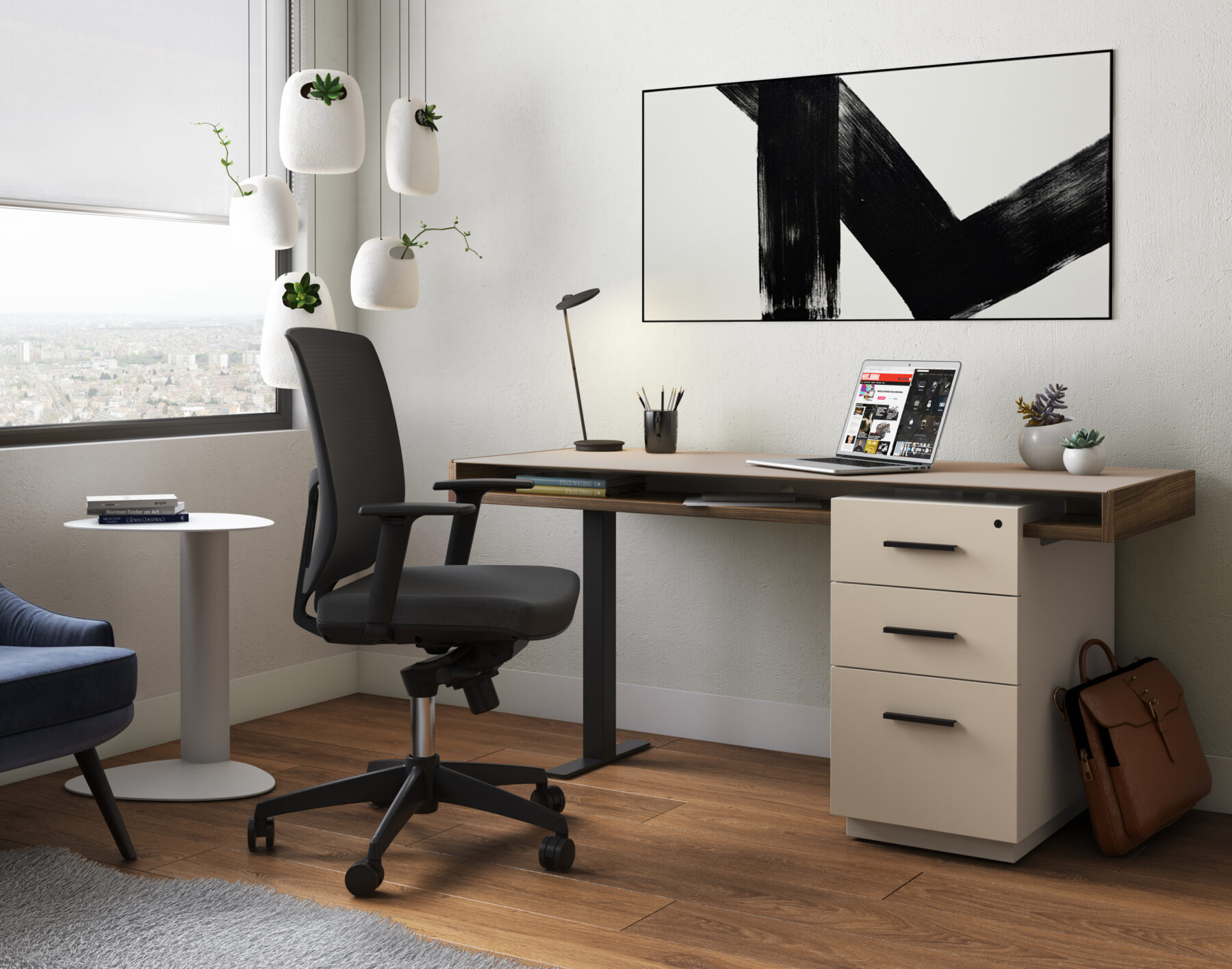 duo_desk_BDI_6241_taupe_pedestal_desk_1