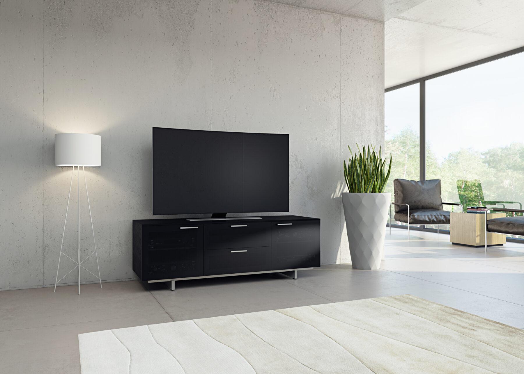 avion-noir-TV-cabinet-8937-bdi-living-room