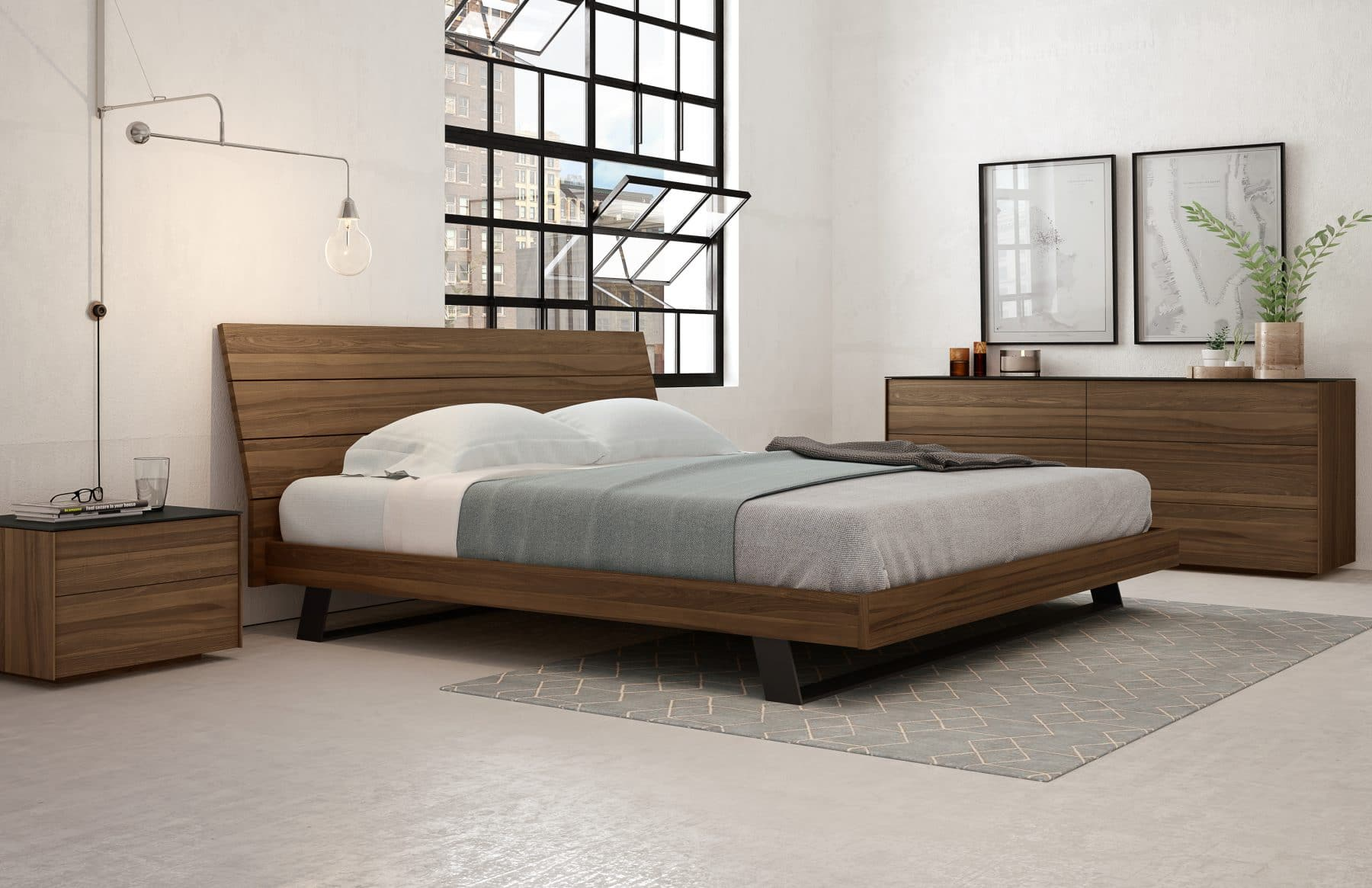 Bella bed with Avita collection-2