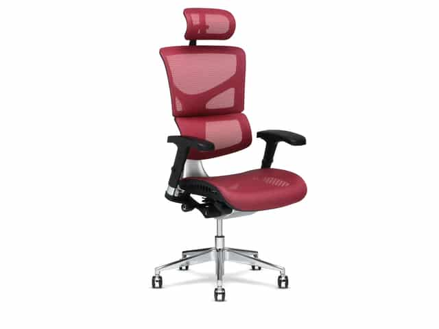 2020_XChair_x2_K_Sport_Red_Headrest_NoHMT_02_Front_Right_R1a